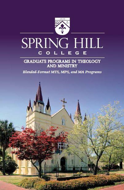 SHC Graduate Theology Brochure