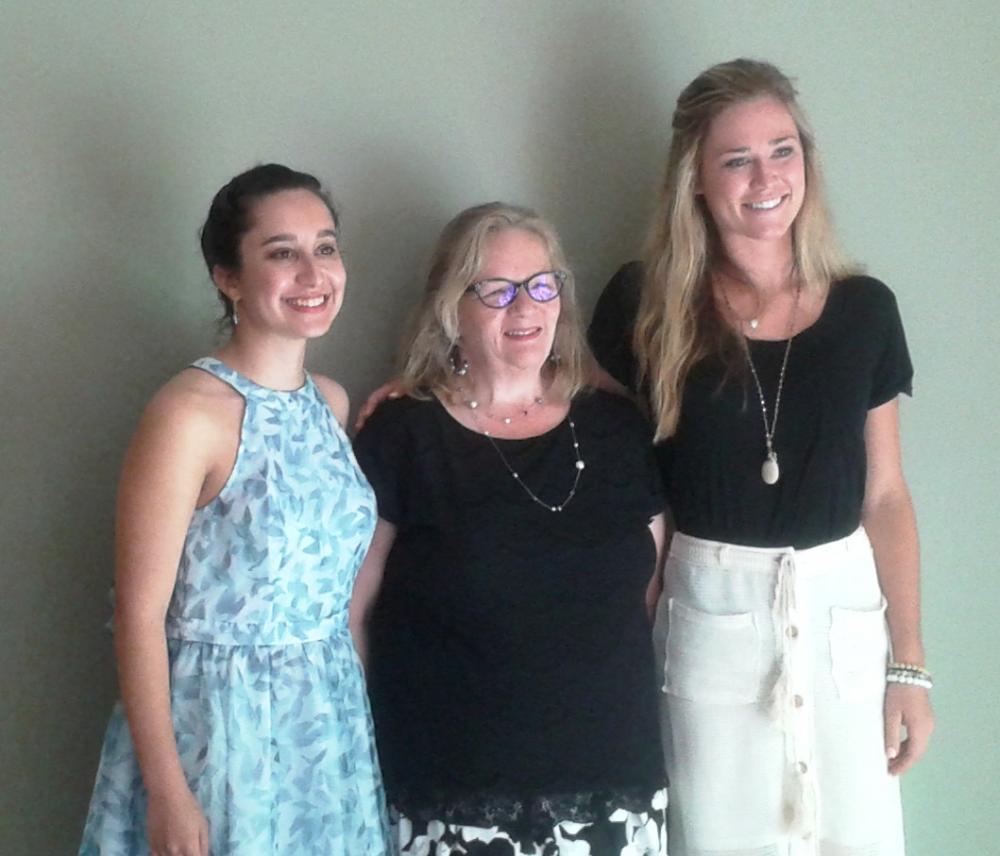 Brianna, Elaine, and Molly